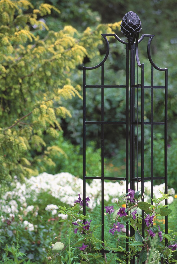 Rose Obelisks - classic support for climbing roses