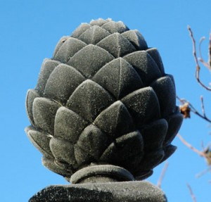 Pinecone Finial