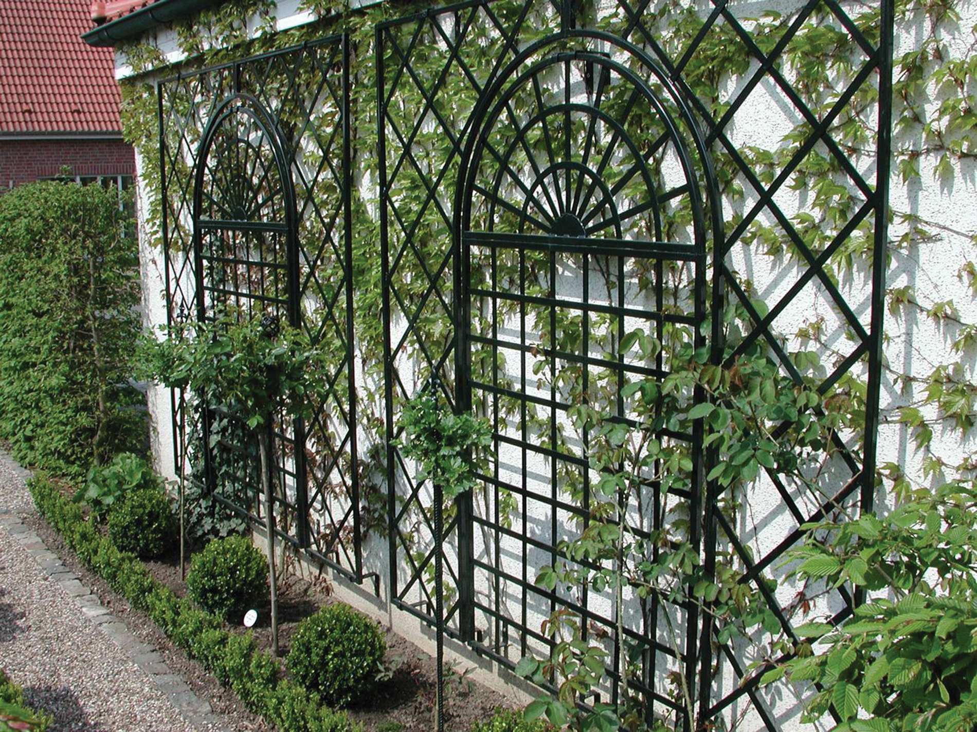 Arched wall trellis 28 images gates metal garden gates for Wall trellis ideas